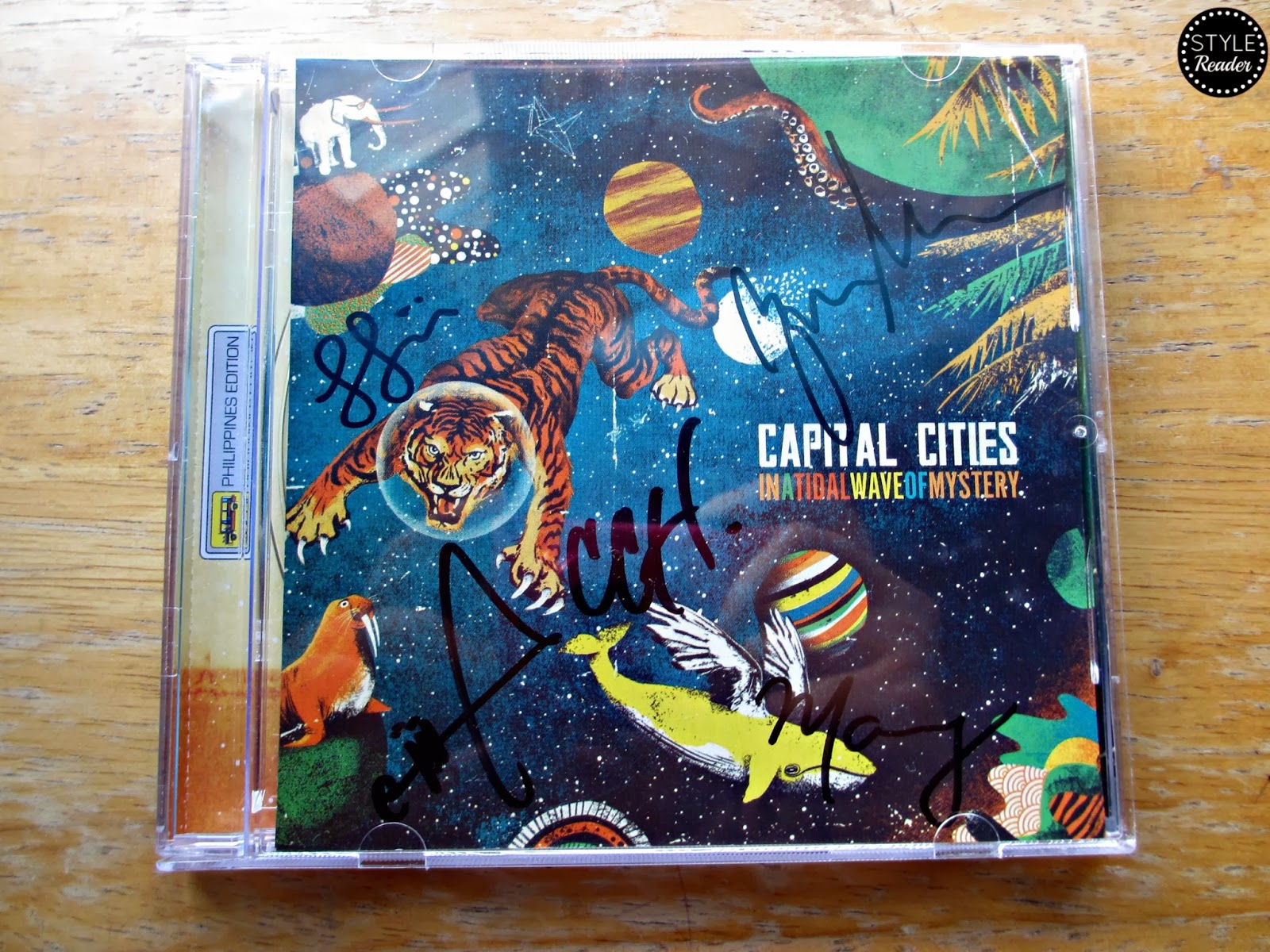 Capital Cities In A Tidal Wave Of Mystery Wallpaper