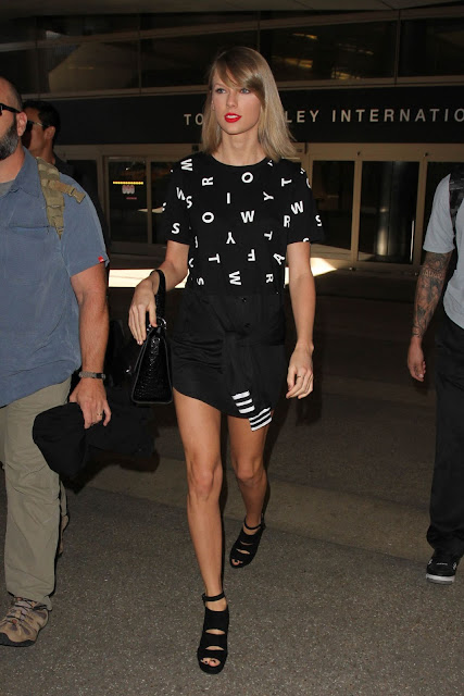 Actress, Singer @ Taylor Swift Style – LAX Airport in LA