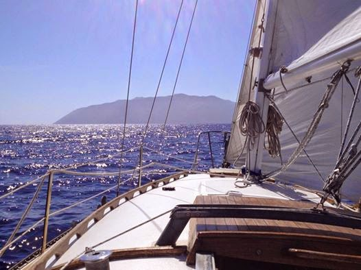 sailing from Los Angeles to Catalina