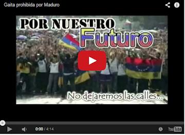 La Gaita que Maduro prohibió pasar en las emisoras de radio!