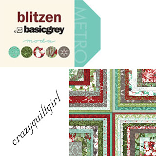 Moda BLITZEN Christmas Quilt Fabric by Basic Grey