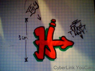 Graffiti Letter H