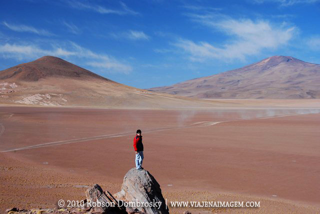 paisagem marciana no deserto da bolivia