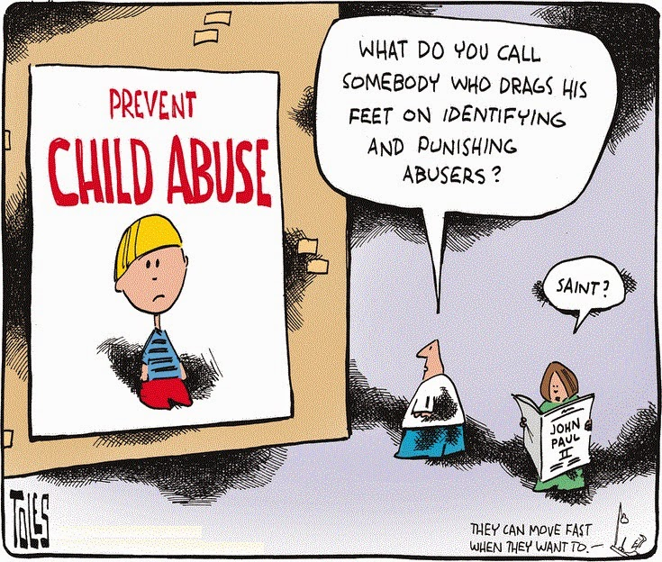 Tom Toles: What do you call somebody who drags his feet on identifying and punishing abusers?