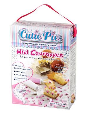 cutie pie, mini couronnes, pâtissiers, apprentis, kits