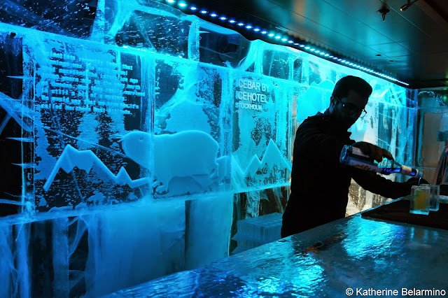 ICEBAR by ICEHOTEL Stockholm Bar and Bartender Cool Bars in Stockholm Sweden