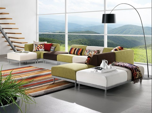 Casas minimalistas y modernas nuevas lineas de sillones for Sillones modulares modernos