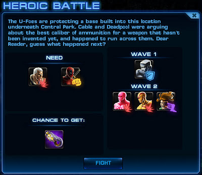 Mission 6 Heroic Battle - Cable & Deadpool vs. The U-Foes