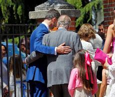 ESPAÑA: El Rey arropa al Rey