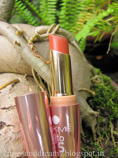 Lakme 9 to 5 Lipstick Coffee Command review, lakme coffee command review, lakme coffee command swatch