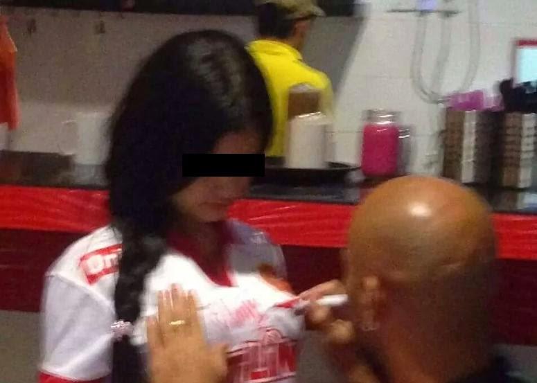 Punca Gadis yang Ditandatangan Pada Baju Oleh Pemain Import TRW Adalah Isterinya Tersebar