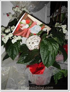 Blumengeschenk - Silberhochzeit