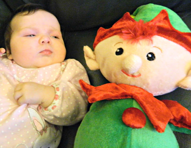 Baby Christmas Elf