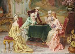 chess painting a chess problem carlo ferranti