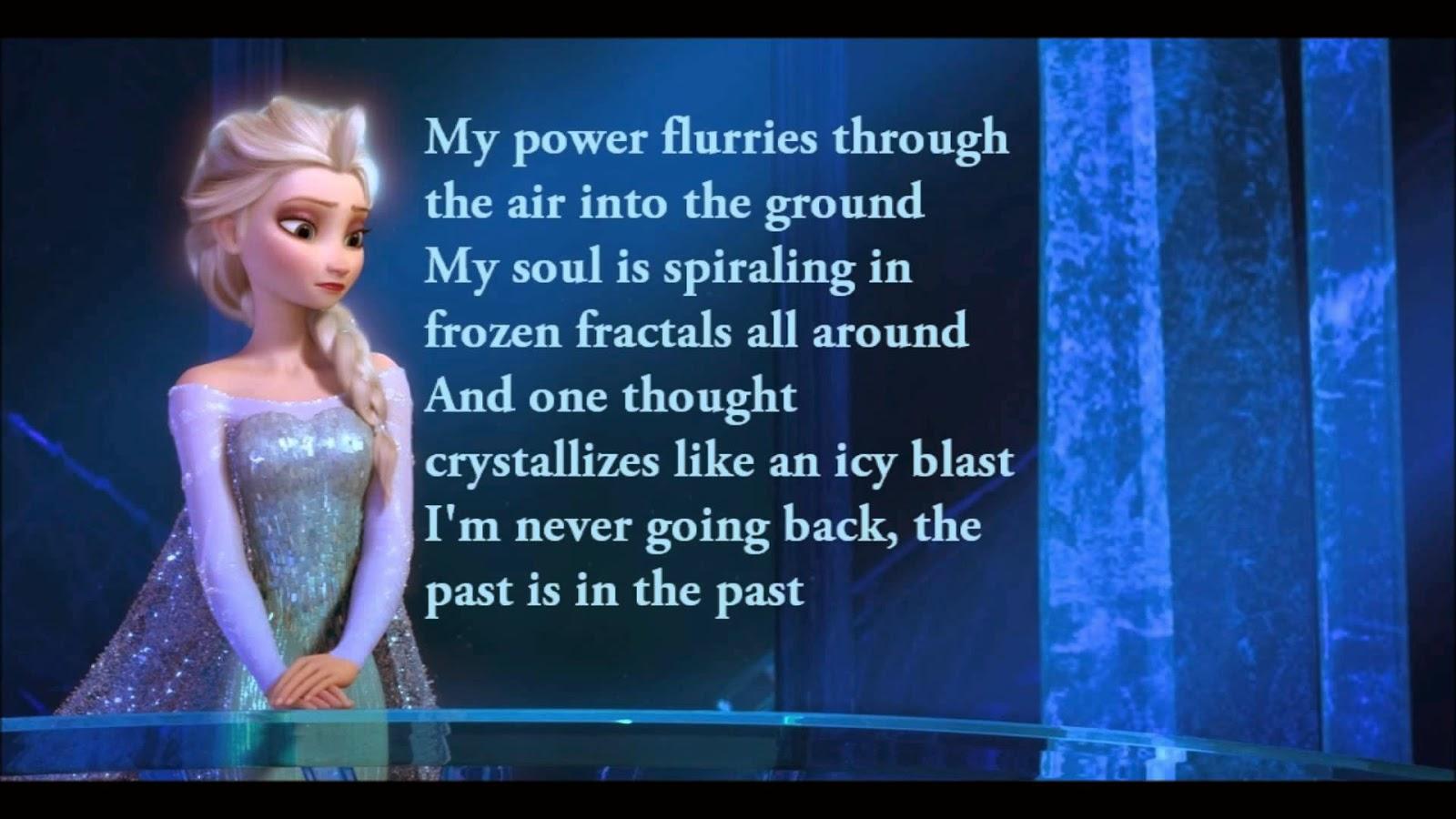 Lirik Lagu Let It Go - Demi Lovato