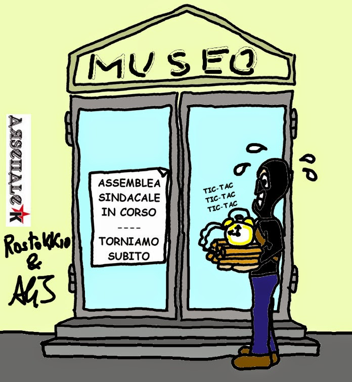 ISIS, Musei, attentati, vignetta , satira