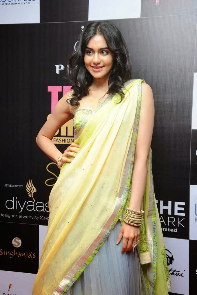 Adah Sharma at Teach For Change Fashion Show