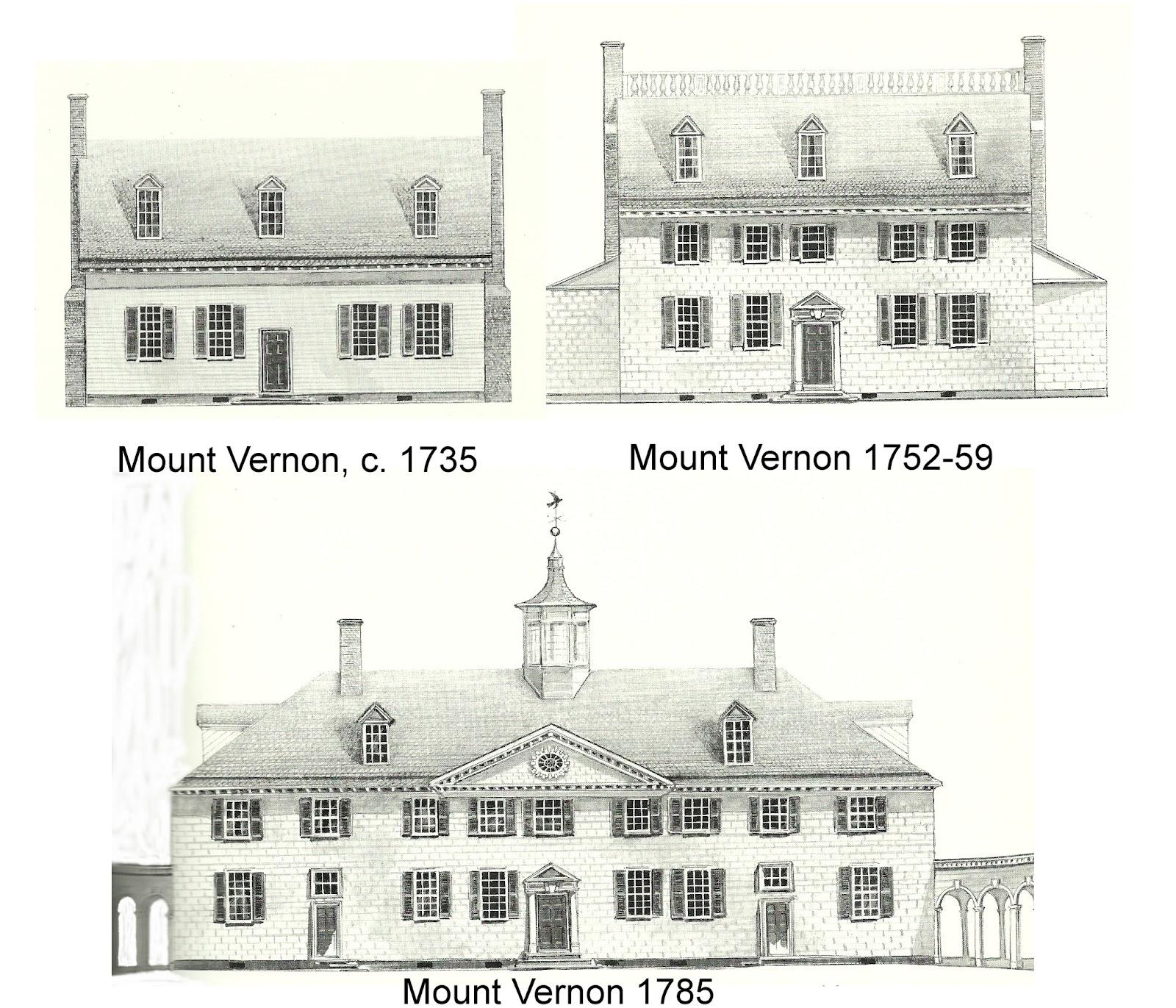 Mount vernon house plans escortsea for Washington house plans