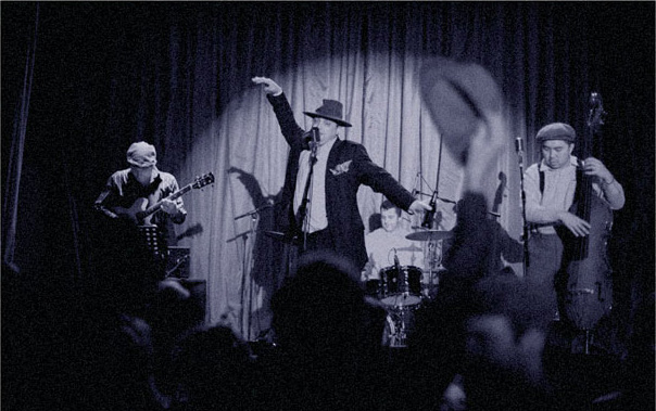 1920s band Prohibition Party live music