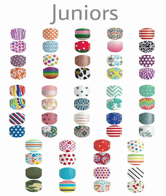 Jamberry junior and tweens nail wraps