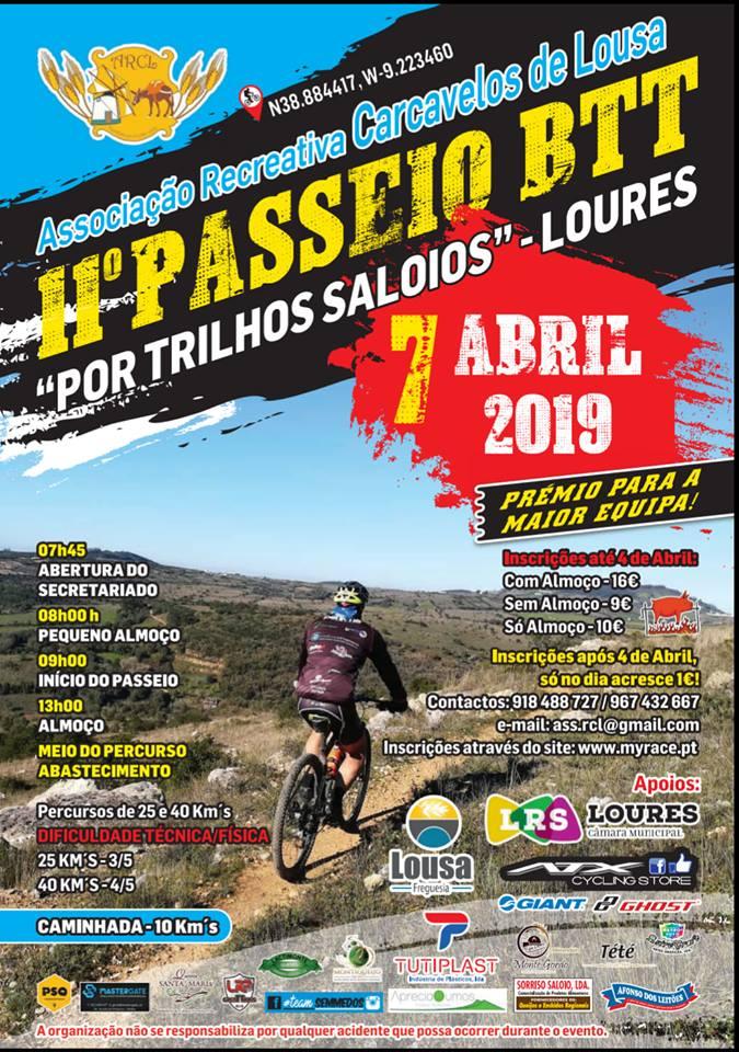 07ABR * CARCAVELOS DE LOUSA - LOURES