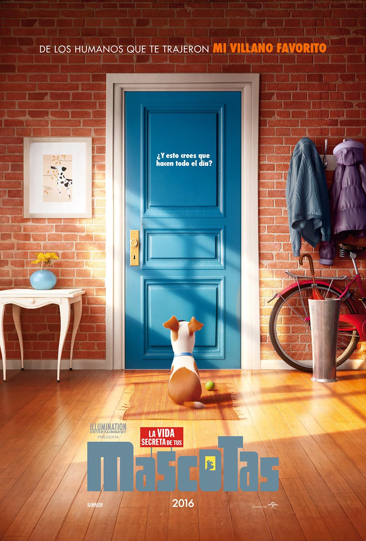 la nuez poster y trailer de la vida secreta de tus mascotas. Black Bedroom Furniture Sets. Home Design Ideas