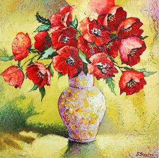 cuadros-modernos-con-flores-en-espatula