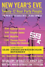 NYE @ 58 | Twenty 12 Hour Party People