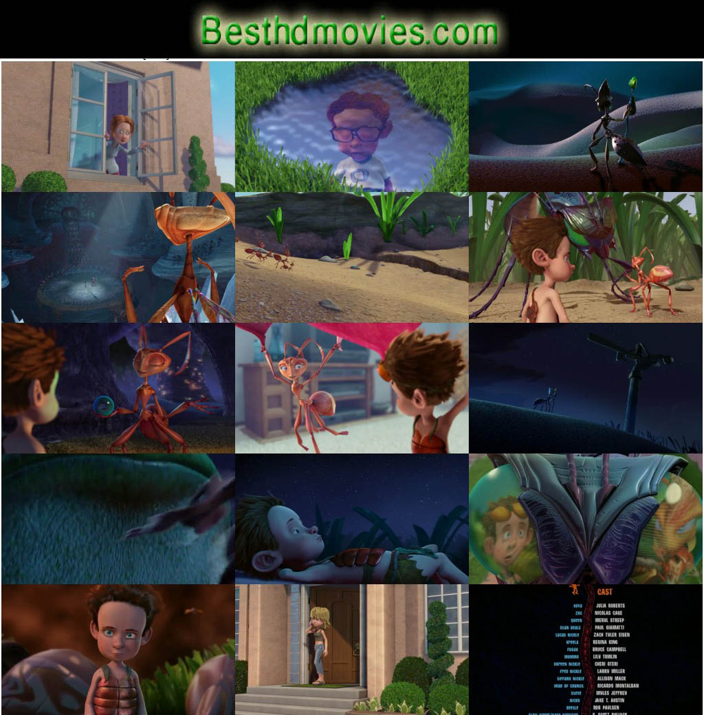 The Ant Bully (2006) 720p BrRip 500mb