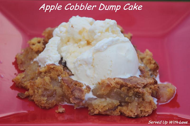 Served Up With Love: Apple Cobbler Dump Cake