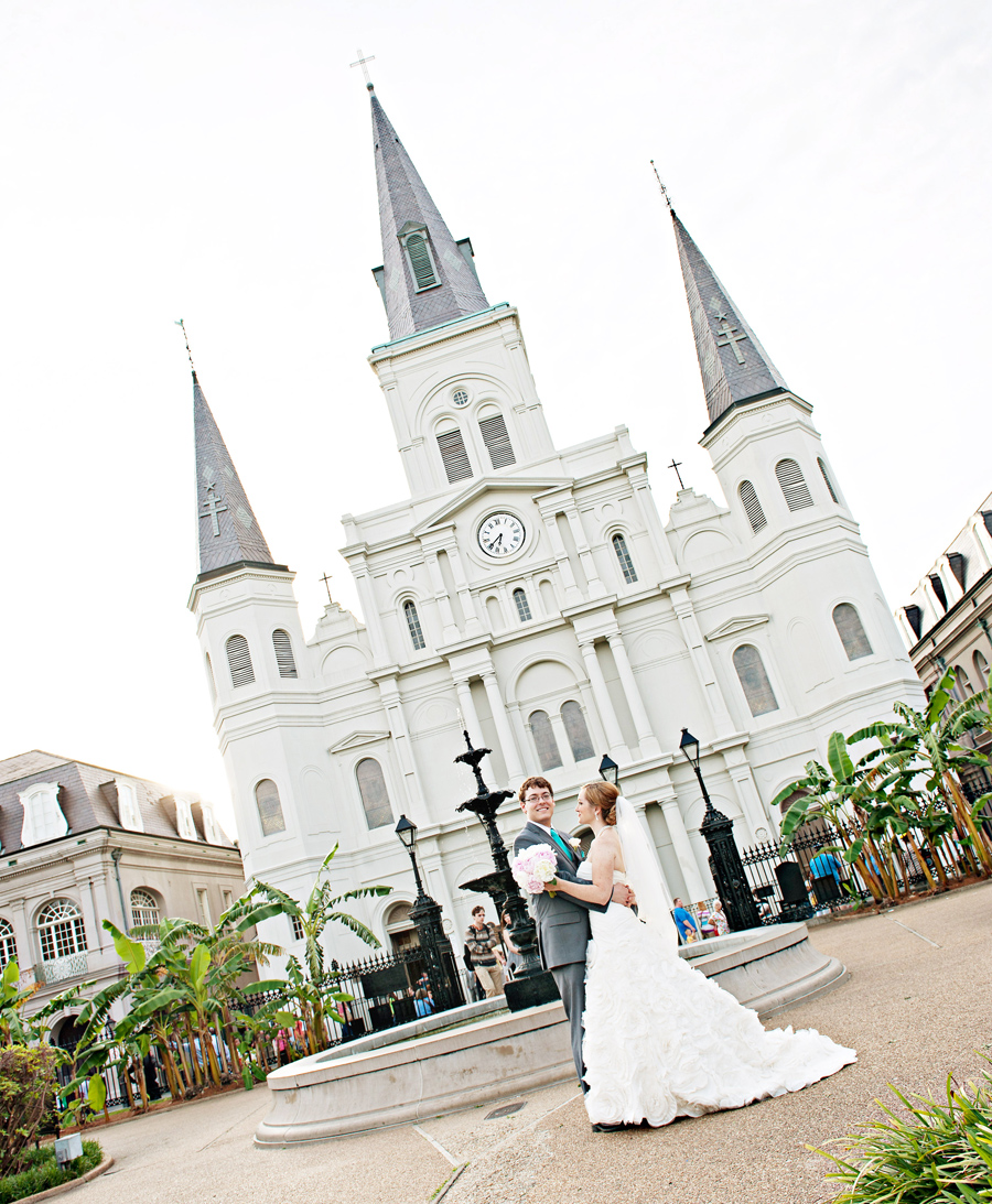 jackson square new orleans wedding