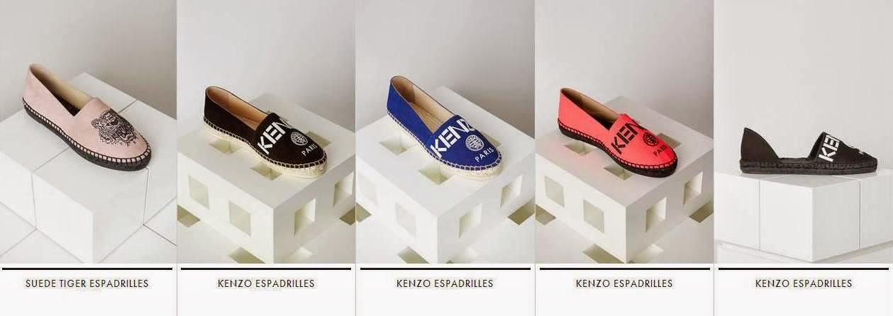 Kenzo & Chiara Farragni Shoes!