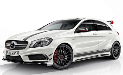 Mercedes A 45 AMG Edition1 is nothing more than the first evolution of normal Class 45 AMG