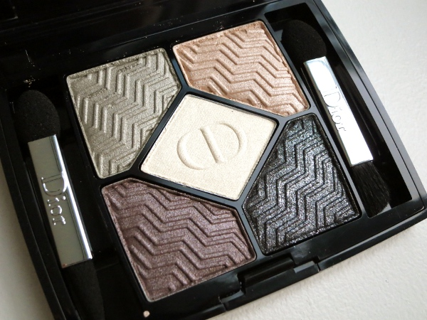 Dior Holiday 2015 State Of Gold Collection 5 Couleurs Eyeshadow Palette Eternal Gold