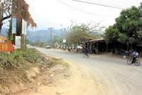 Desvio de La Ceiba hacia Olanchito