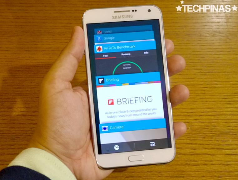 Samsung Galaxy E7, Samsung Galaxy E7 User Interface, Samsung Galaxy E7 Multitasking