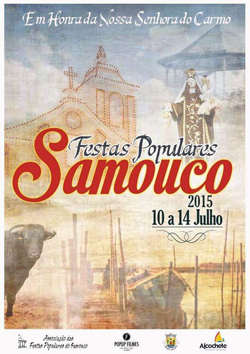 Samouco: Festas em Honra de Nª Srª do Carmo 2015: