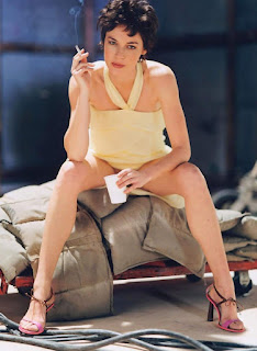 Connie Nielsen Smoking Cigarettes