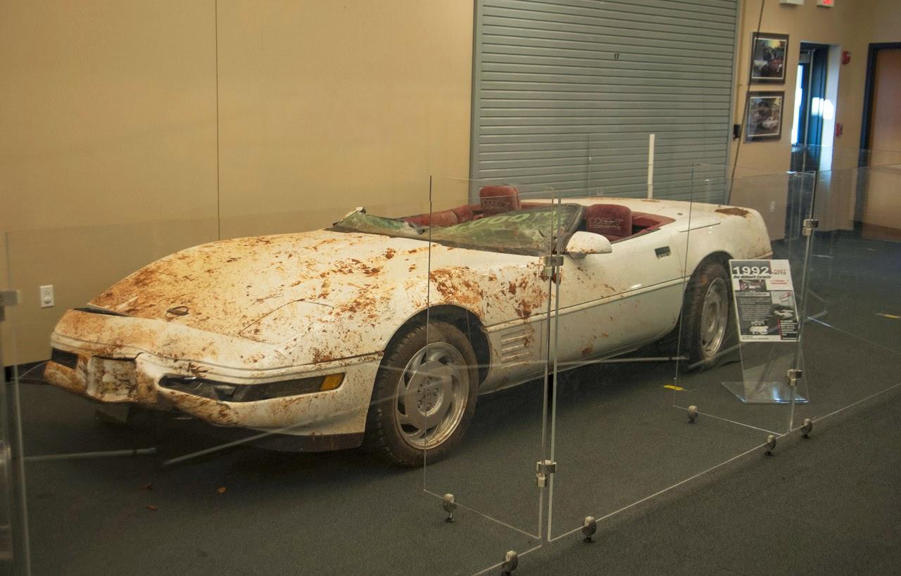 automotiveblogz national corvette museum car recovery photos. Cars Review. Best American Auto & Cars Review