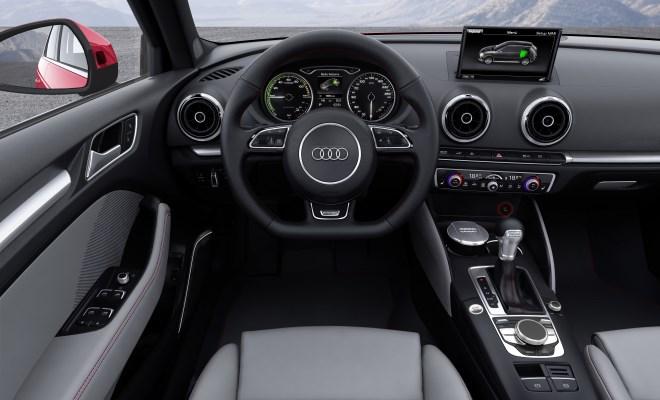 Audi A3 Sportback e-tron front side view
