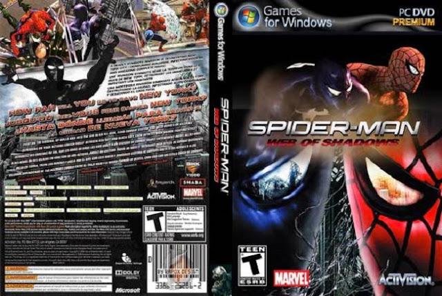 تحميل لعبة Spider Man Web of Shadows برابط واحد مباشر