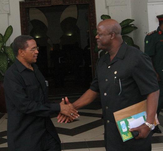 naye mazungumzo Ikulujijini Dar es Salaam(picha na Freddy Maro