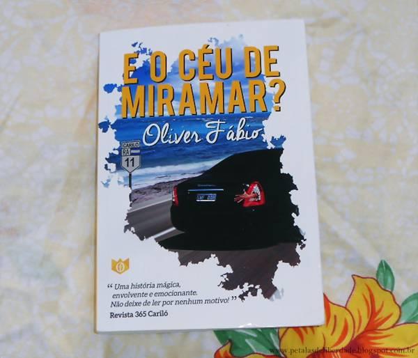 capa, Resenha, livro, E o céu de Miramar?, Oliver Fábio, Argentina, literatura-nacional,