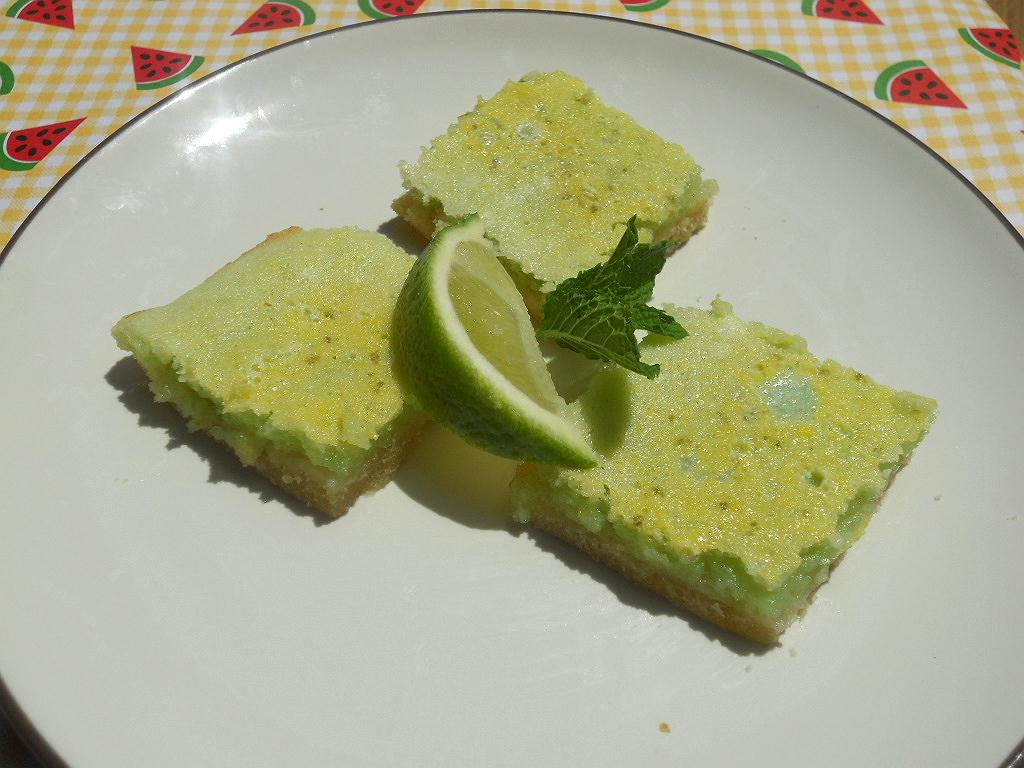 Key Lime Bars: Recipe Swap - Hezzi-D's Books and Cooks