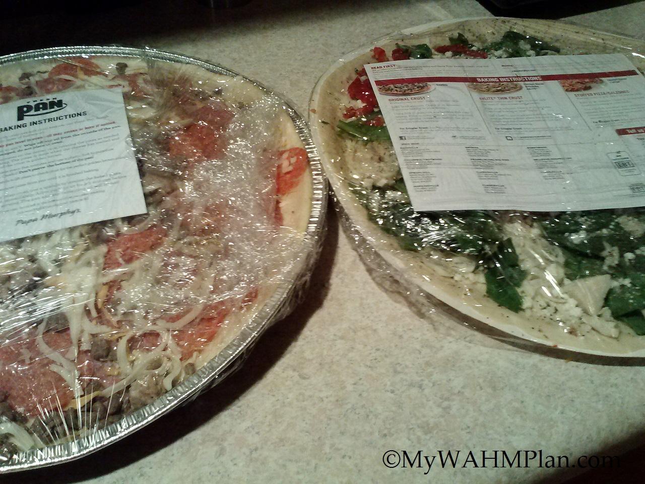 Papa Murphy's take N Bake Pizzas #PapaMurphy'sMom