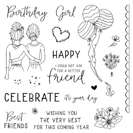 "Use this link to begin the ""TO MY BESTIE"" Stamp of the Month Blog Hop!"