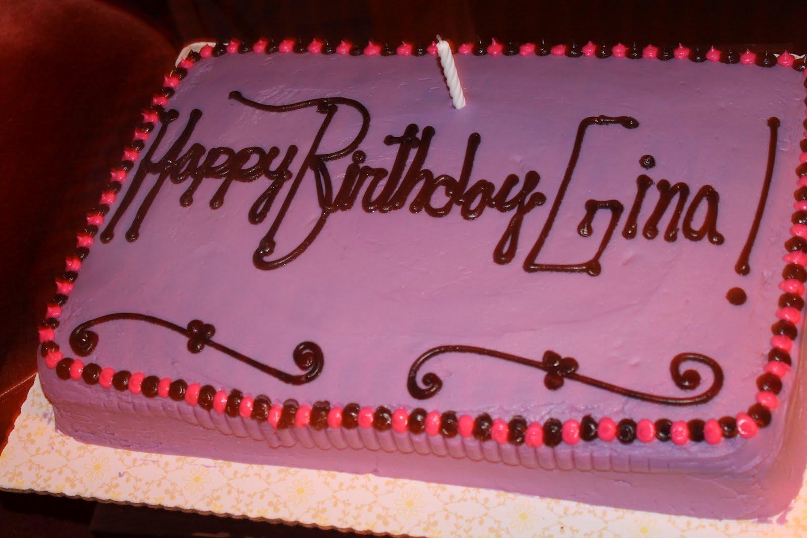 Getting Fat With Nat Happy Birthday Gina Round 1