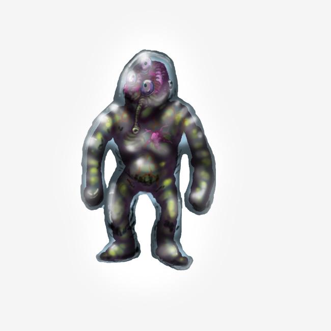 Alien blob creature