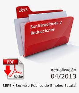 Bonificaciones / Reducciones
