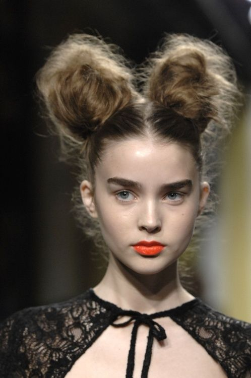 Best Photo Of Two Buns Hairstyle Floyd Donaldson Journal